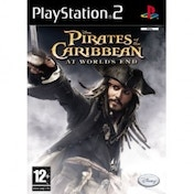(USED) Pirates Of The Caribbean 3 At Worlds End Game PS2 Used - Like New