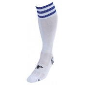PT 3 Stripe Pro Football Socks LBoys White/Royal