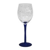 All Mum Wants Is A Silent Night Wine Glass