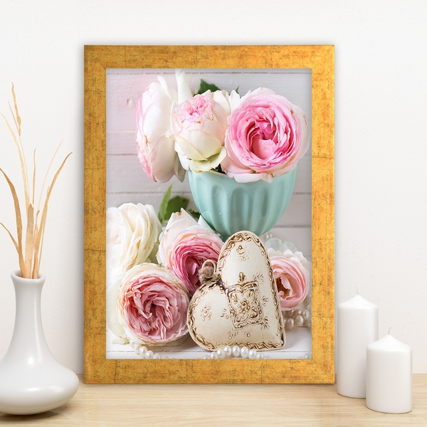 AC3035083342 Multicolor Decorative Framed MDF Painting