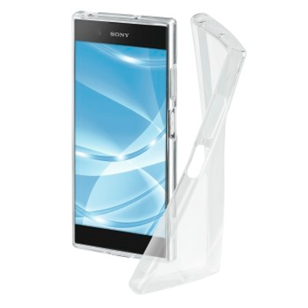 """Hama """"Crystal Clear"""" Cover for the Sony Xperia XA1 Plus, transparent"""