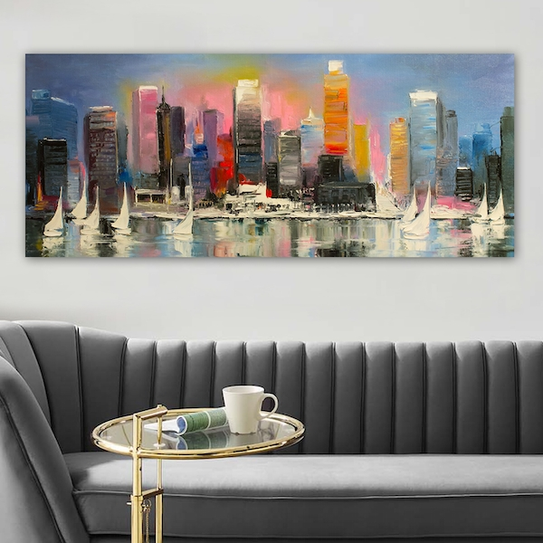 YTY103354011591_50120 Multicolor Decorative Canvas Painting