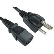 Cables Direct RB-291W 2m C13 coupler Black power cable