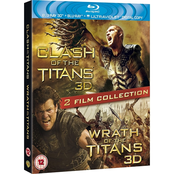Wrath Of The Titans & Clash Of The Titans 3D Blu-ray Double Pack