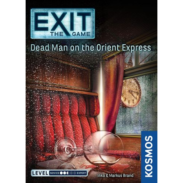 Exit: Dead Man On The Orient Express Board Game - Image 2