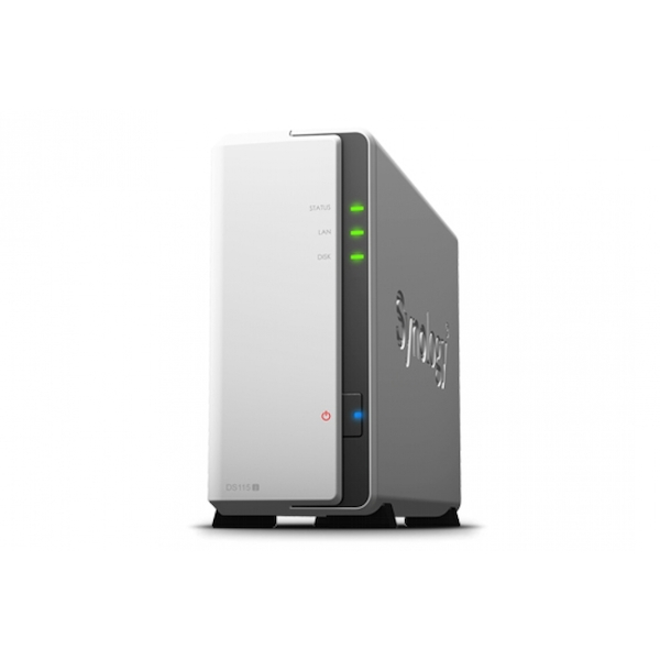 Synology DiskStation DS115j 1 Bay Network Attached Storage