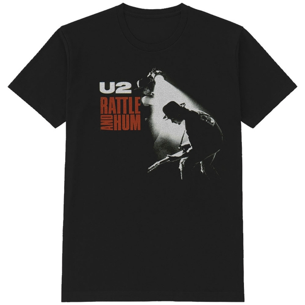 U2 - Rattle & Hum Men's X-Large T-Shirt - Black