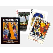 London Transport Posters Collectors Playing Cards