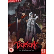 Berserk: The Golden Age Arc Movie Collection DVD