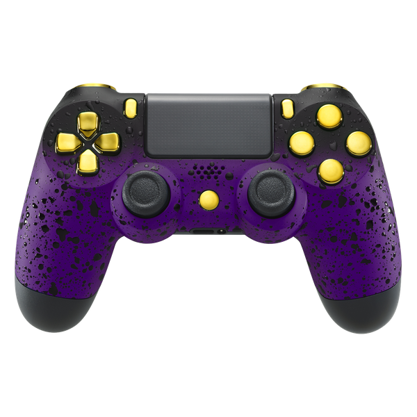 Image of PlayStation 4 Controller - 3D Purple Shadow Edition - Custom Controller