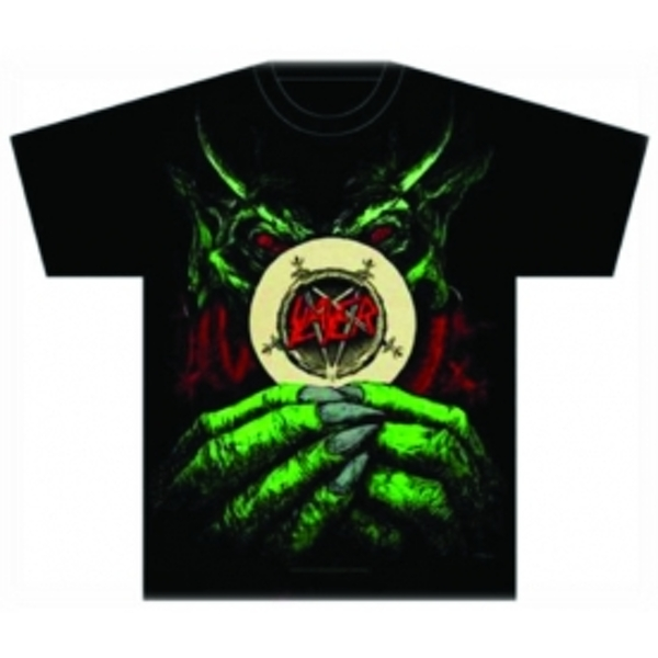 Slayer Root of all Evil Mens T Shirt: Medium