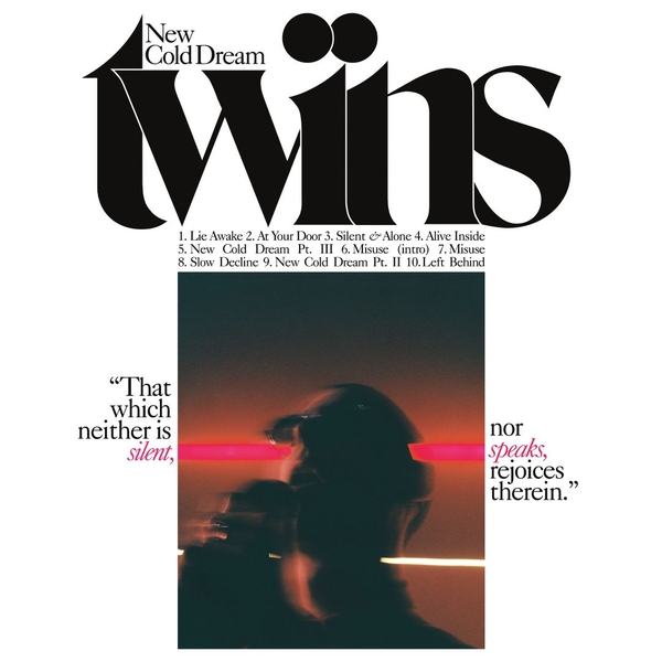 Twins - New Cold Dream Pink & White Vinyl