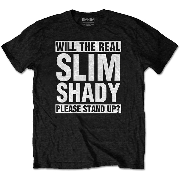 Eminem - The Real Slim Shady Men's XX-Large T-Shirt - Black