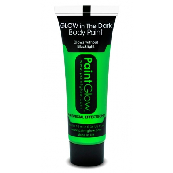 Paintglow Glow In The Dark Body Paint (Green)
