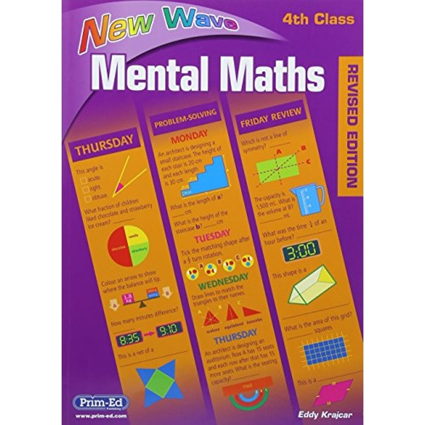 New Wave Mental Maths Book 4: Workbook 4 by Prim-Ed Publishing (Paperback, 2007)