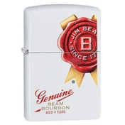 Zippo Unisex's Jim Beam White Regular Windproof Lighter
