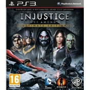 Injustice Gods Among Us Ultimate Edition Game Of The Year (GOTY) Game PS3