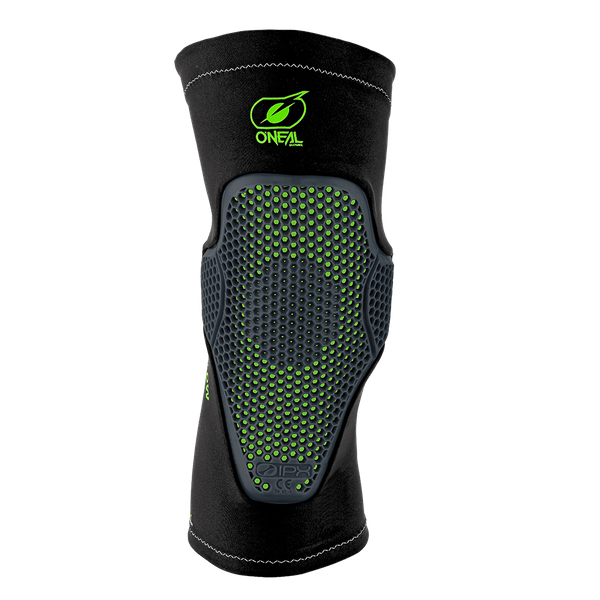O'Neal Flow Knee Pads Black/Green Large/X Large