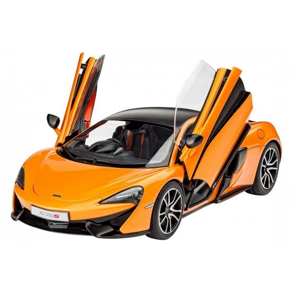 McLaren 570S (Cars) 1:24 Scale Level 3 Revell Model Kit