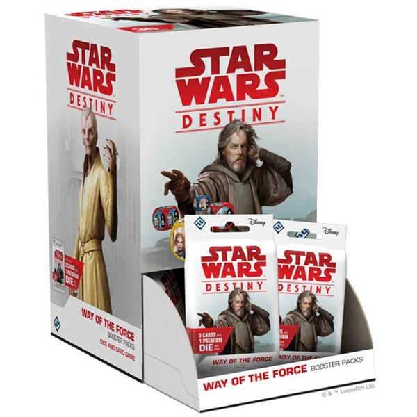 Star Wars Destiny: Way of the Force Booster Box (36 Packs)