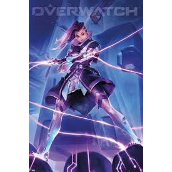 Overwatch - Sombra Maxi Poster