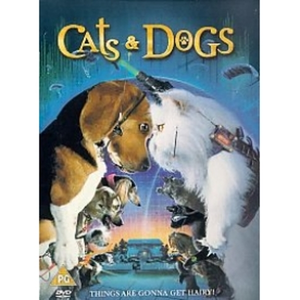 Cats And Dogs 2001 DVD
