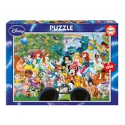 Educa The Marvellous World of Disney 1000 Piece Jigsaw Puzzle
