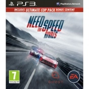 Need for Speed Rivals Limited Edition (Ultimate Cop Pack DLC) Game PS3
