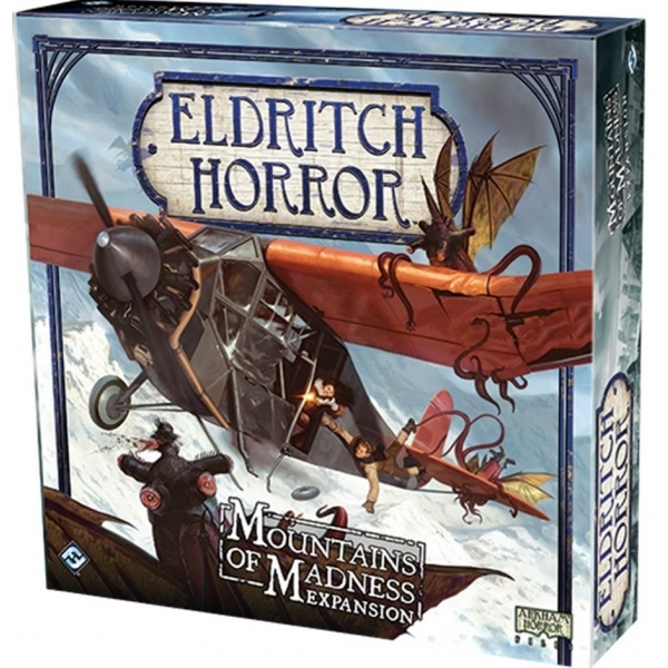 Eldritch Horror Mountains of Madness Board Game
