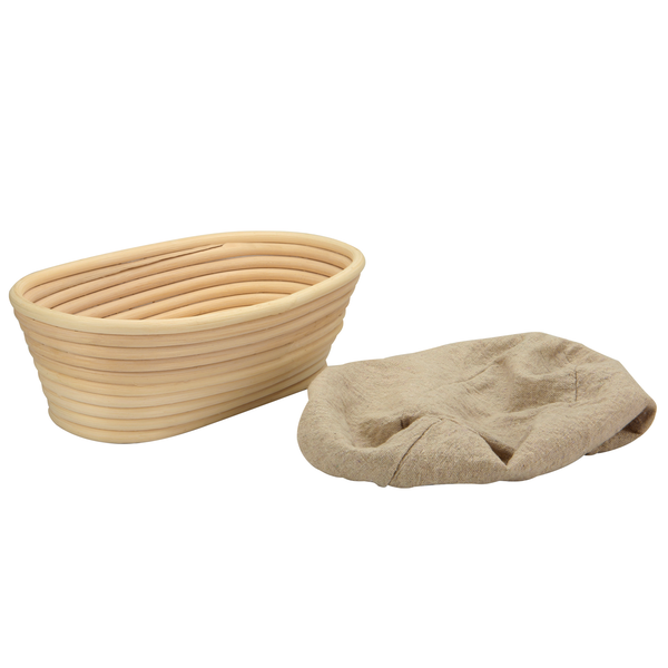 Bread Proofing Basket Banneton Lame | M&W Oval