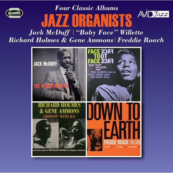 Jazz Organists - Four Classic Albums CD
