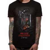 Blade Runner 2049 - Two Pistols Men's Large T-Shirt - Black