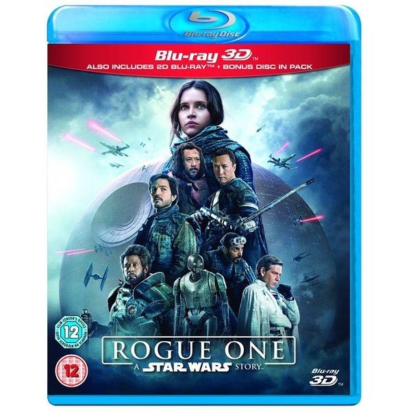 Rogue One A Star Wars Story 3D Blu-ray Blu-ray