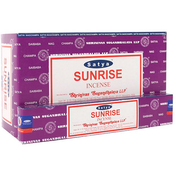 Box of 12 Packs of Sunrise Incense Sticks by Satya