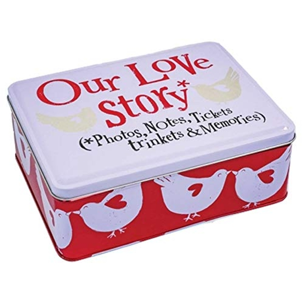 Our Love Story Tin (One Random Supplied)