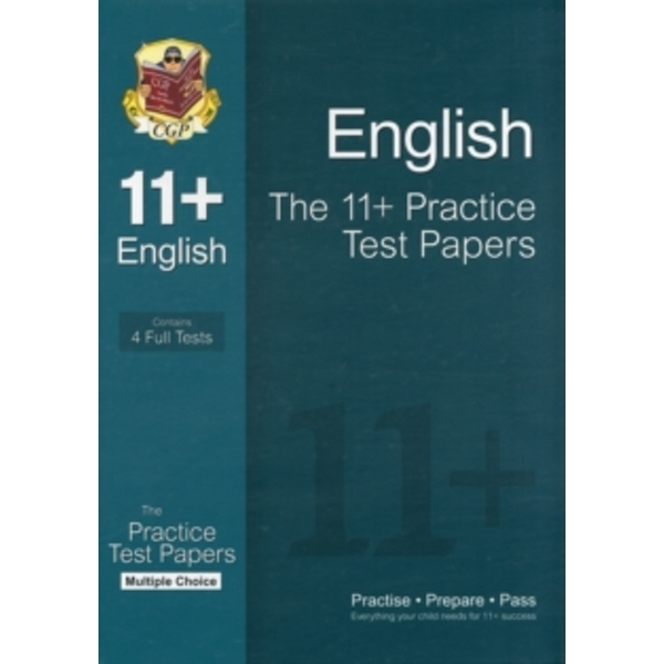 The 11+ English Practice Test Papers: Multiple Choice (for GL & Other Test  Providers) by CGP Books (Paperback, 2012)