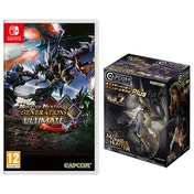 Monster Hunter Generations Ultimate + Vol 2 Builder Figure Nintendo Switch Game