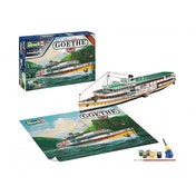 Paddle Steamer Goethe 1:160 Revell Model Gift Set