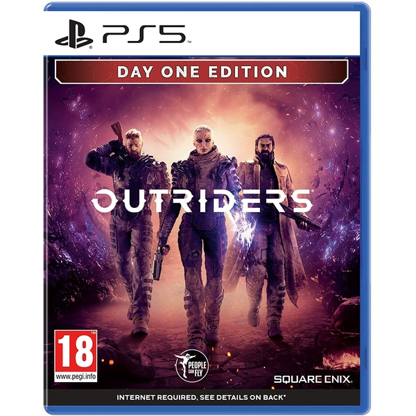 Outriders Day One Edition PS5 Game + Bonus 4 Art Cards