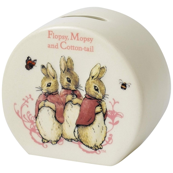 Flopsy Mopsy & Cotton-tail Money Bank