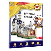 Bavarian Castle Build Your Own Giant 3D Jigsaw Kit