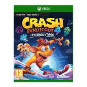 Crash Bandicoot 4 It's About Time Xbox One Game