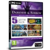 Focus Multimedia Darkness and Sorrow 5 Game Pack Hidden Object Game for PC (DVD-ROM)
