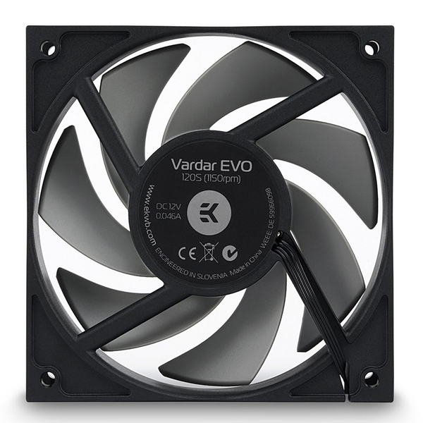 EK Water Blocks EK-Vardar EVO 120S BB (700-1150rpm) Fan - 120mm
