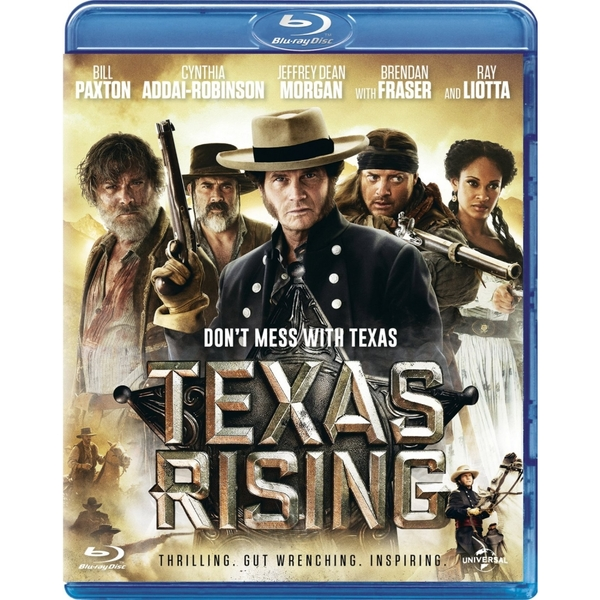 Texas Rising Blu-ray