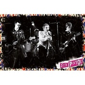 Sex Pistols On Stage Maxi Poster
