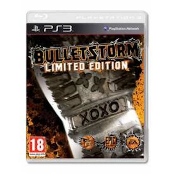Bulletstorm Limited Edition Game PS3