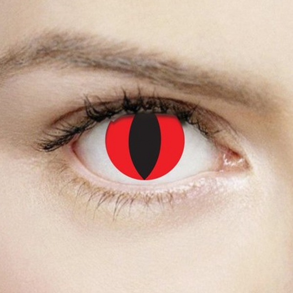 Devil 1 Day Halloween Coloured Contact Lenses (MesmerEyez XtremeEyez)