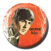 The Beatles - George Badge
