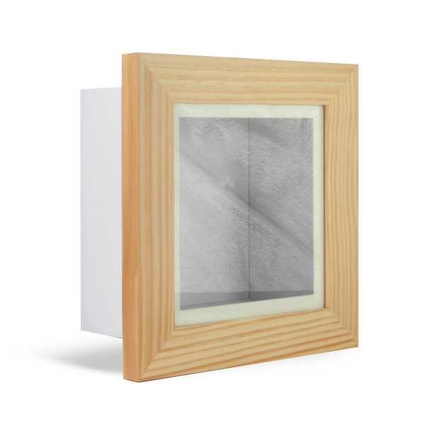 "3D Box Frame | M&W Oak 8"" x 8"""